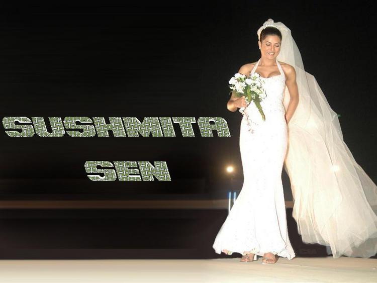 Sushmita Sen Wedding Dress Latest Wallpaper
