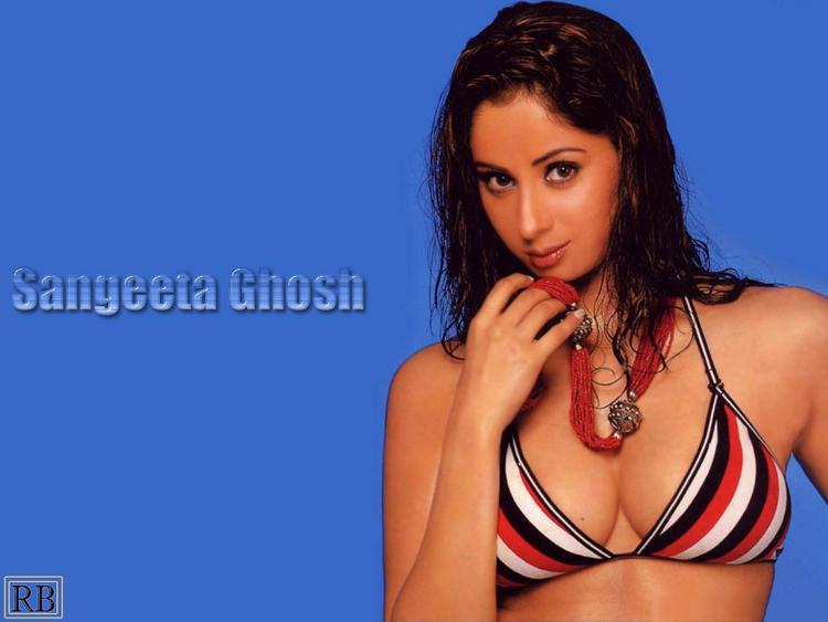Sangeeta Ghosh Hot And Bold Look Wallpaper