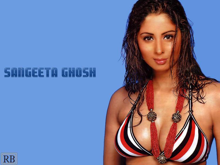 Sangeeta Ghosh Open Boob Wallpaper