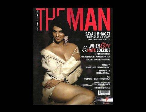 Sayali Bhagat On The Cover Page Of Man