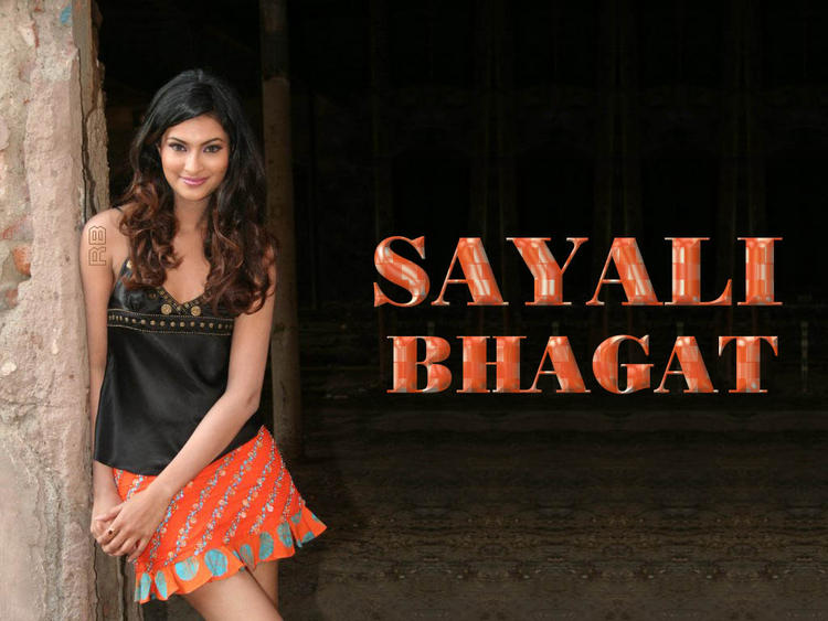Sayali Bhagat Cute Mini Skirt Still