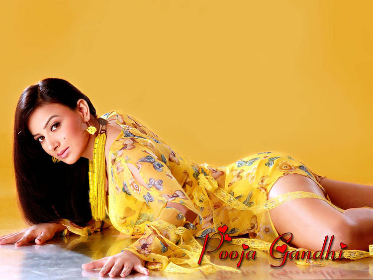 Pooja Gandhi Bold Photo Shoot