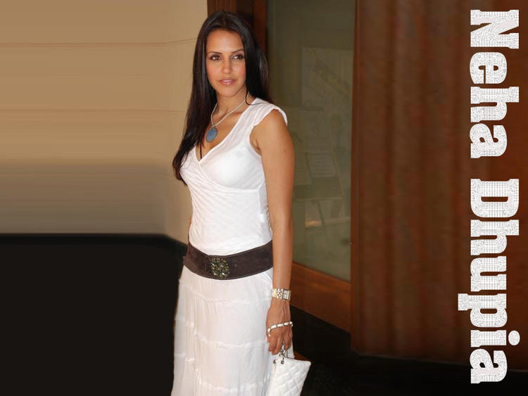 Beautiful Neha Dhupia Nice and Cool Wallpaper