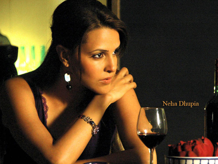 Bold Actress Neha Dhupia Wallpaper