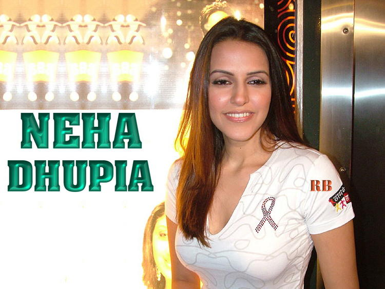 Former Beauty Queen Neha Dhupia Wallpaper