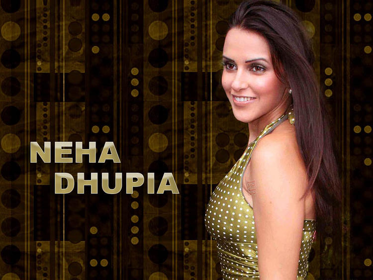 Neha Dhupia Sexy Beautiful Wallpaper