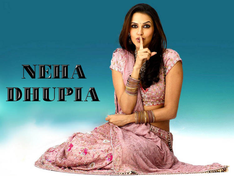Sizzling Neha Dhupia Cute Sexy Wallpaper