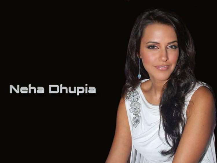 Sweet Neha Dhupia Glamour Wallpaper