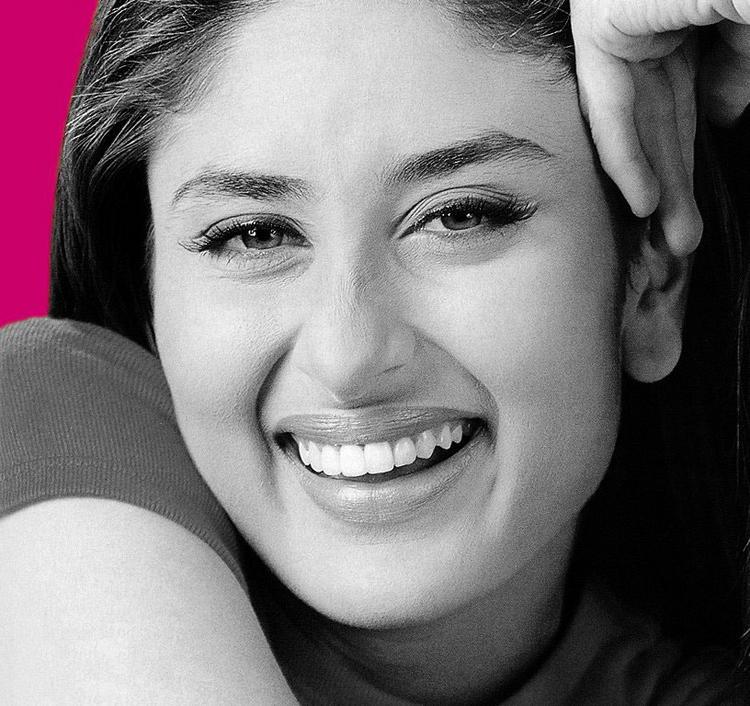 Beautiful Kareena Kapoor  Smiling Look Wallpaper