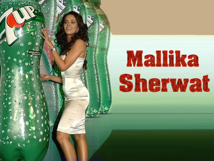 Mallika Sherawat 7 Up Add Wallpaper