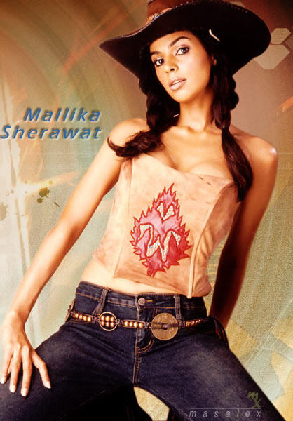 Mallika Sherawat Hot Spicy Wallpaper