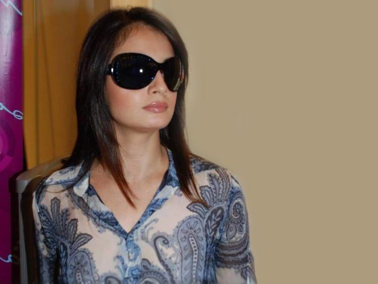 Diya Mirza Stylist Pic Wearing Goggles
