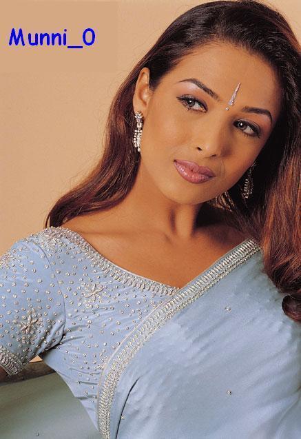 Malaika Arora Khan Hot In Saree Wallpaper
