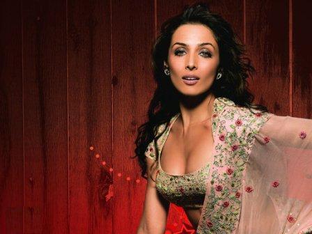 Sexy Malaika Arora Khan Open Boob Wallpaper
