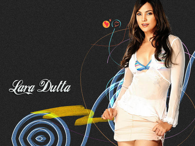 Lara Dutta Sexy Pose Beautiful Wallpaper