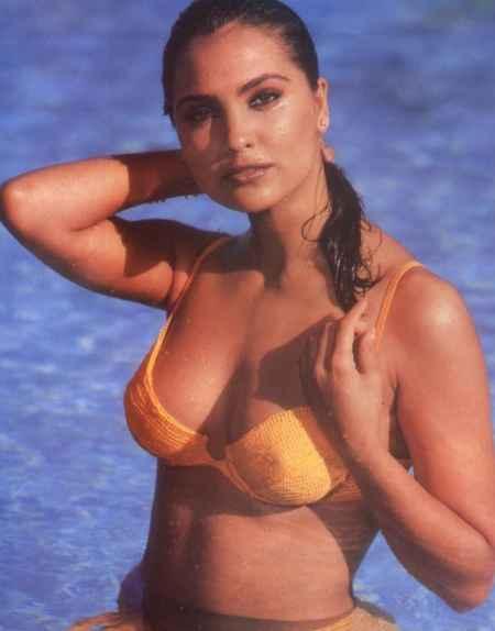 Lara Dutta Wet Outfit Still
