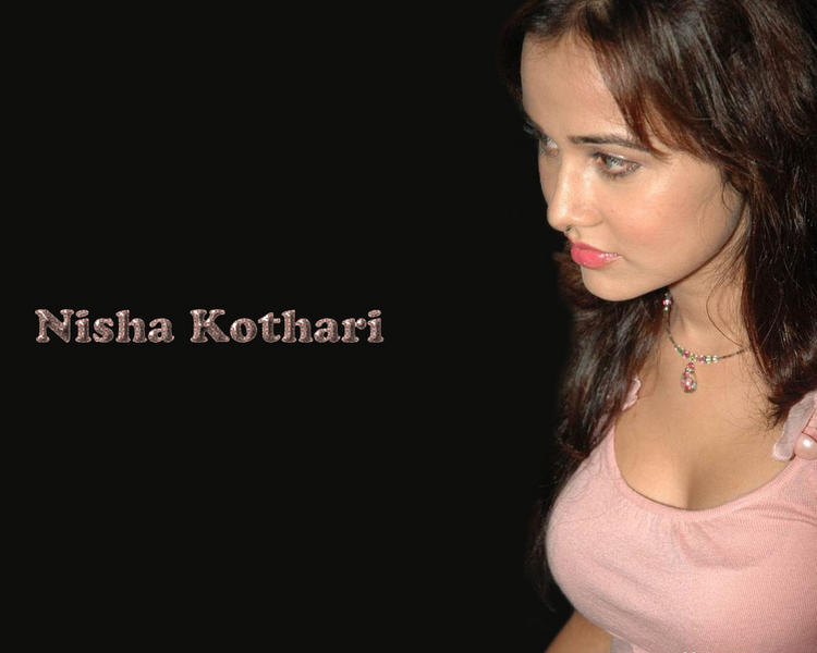 Nisha Kothari Pink Lips Beauty Still