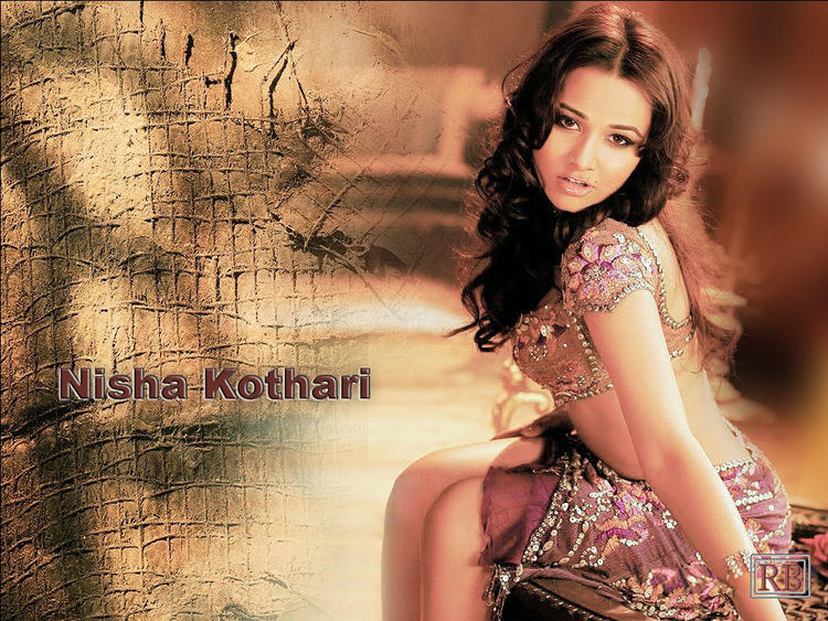 Nisha Kothari Spicy Pose Wallpaper