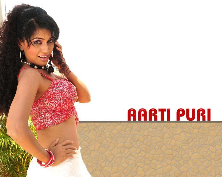 Aarti Puri Hot Look Wallpaper