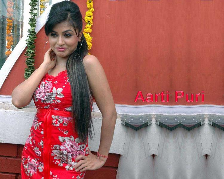 Aarti Puri Red Dress Hot Wallpaper