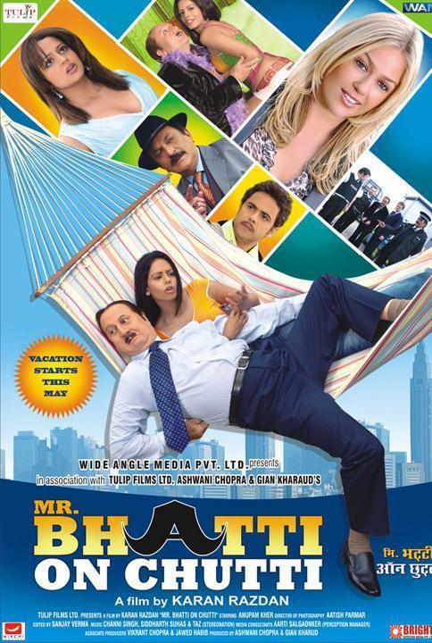 Mr. Bhatti on Chutti Poster
