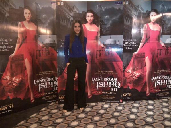 Karishma Kapoor Promotes Dangerous Ishq In Different Look