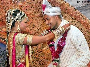 Rakhi Sawant and Elesh Wedding Photo