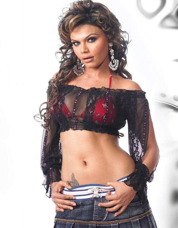 Rakhi Sawant Spicy Navel Hottest Photo