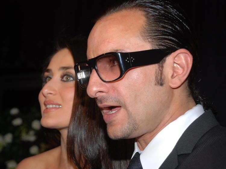 Kareena with Saif Glamour Photo