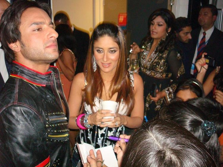 Saif Ali Khan and Kareena Kapoor Gorgeous Pic