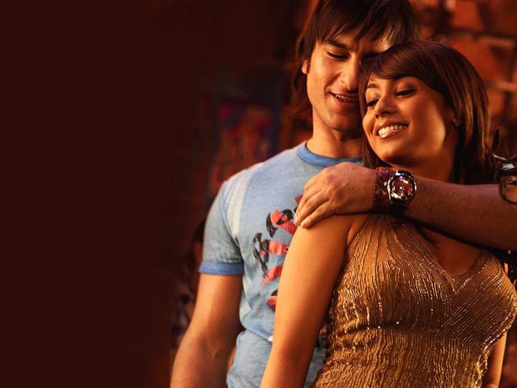 Saif Ali Khan and Rani Mukherjee Romance Still In Hum Tum