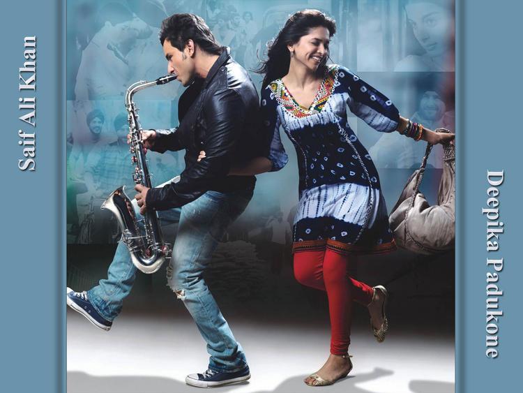 Saif and Deepika Cute Still In Love Aaj Kal