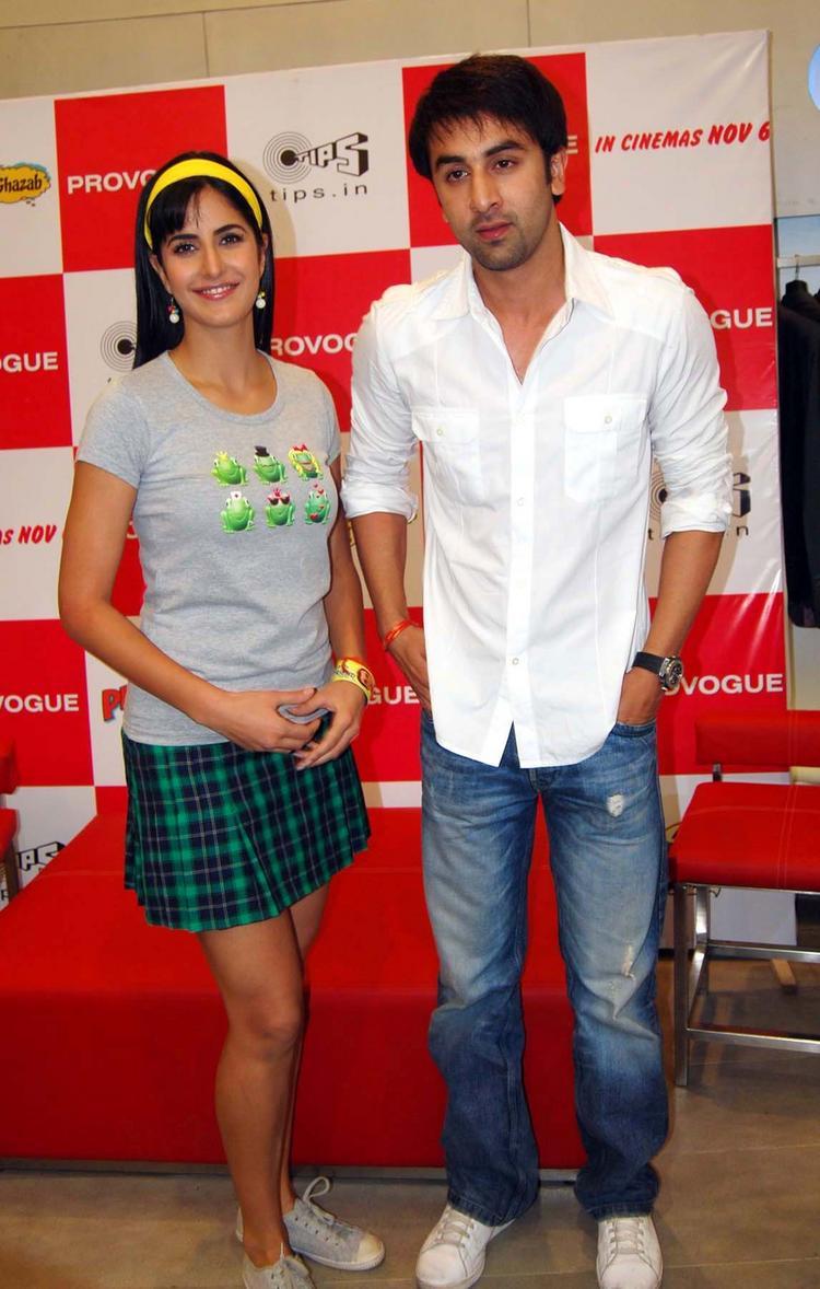 Ranbir and Katrina at Ajab Prem Ki Gajab Kahani Promotional Event