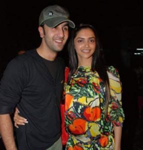 Ranbir Kapoor and Deepika Sweet Still