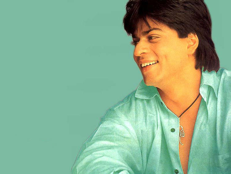 Sexiest Star Shahrukh Khan Smiling Still