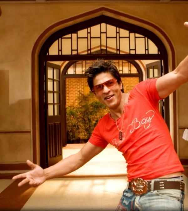 Shahrukh Khan Red t Shirt Sexy Still