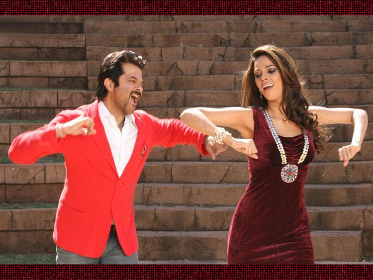 Anil Kapoor and Mallika Sherawat Dance Still In Welcome