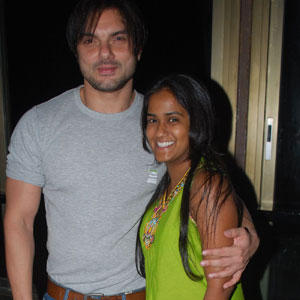 Sohail Khan and Arpita Poses To Photo Shoot
