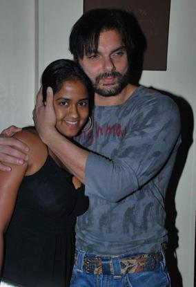 Sohail Khan and Arpita Sexy Still