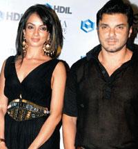 Sohail Khan and Seema Glamour Still
