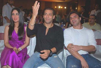 Sohail Khan,Kareena and Salman Photo