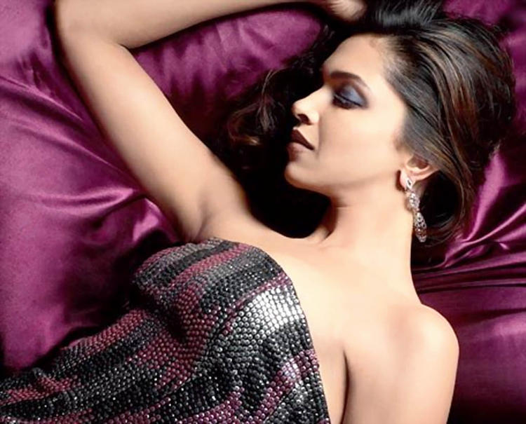 Deepika Padukone Sexy Photo Shoot On Sleeping Mode