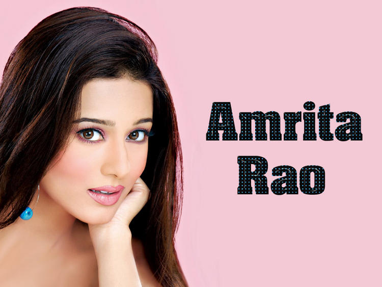 Amrita Rao Glory Face Look Wallpaper