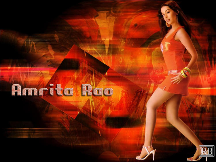 Amrita Rao Hot Wallpaper