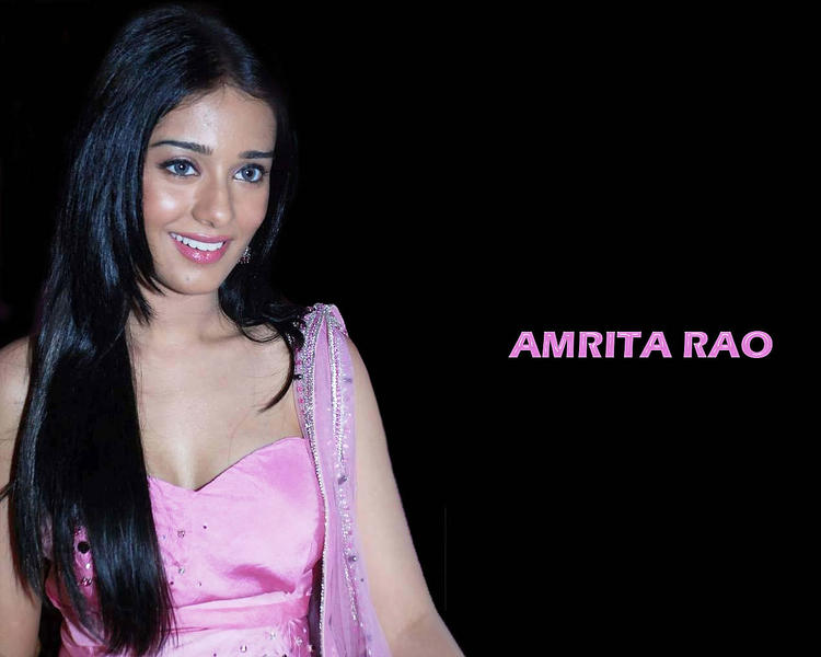 Cubby Actress Amrita Rao Wallpaper