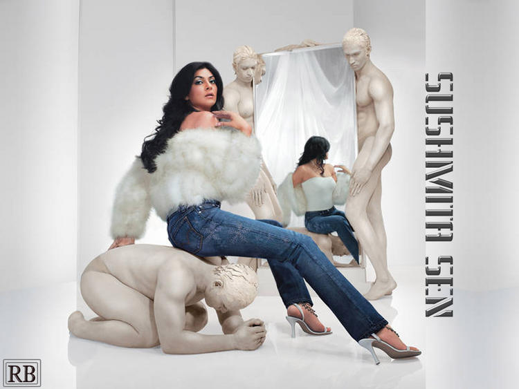 Sushmita Sen Hot Sexy Wallpaper