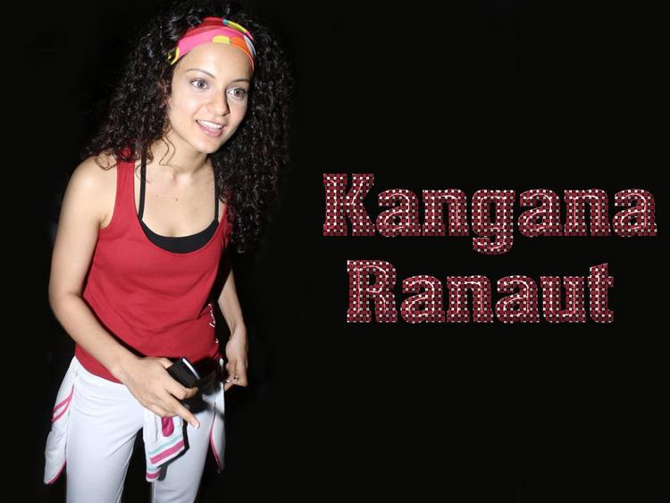 Kangana Ranaut Beautiful Sexy Wallpaper
