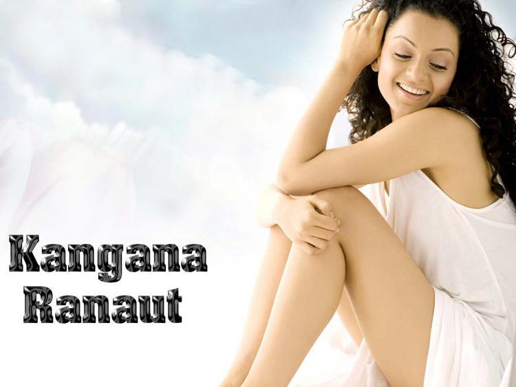 Kangana Ranaut Showing Her Milky Things