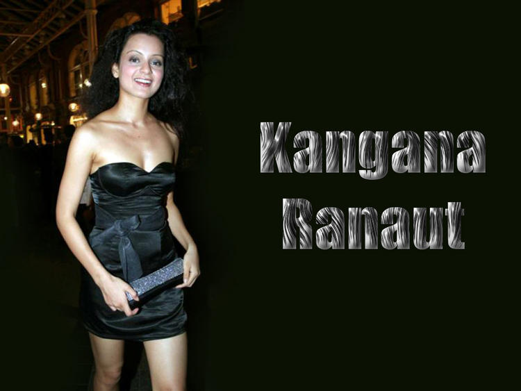 Kangana Ranaut Strapless Dress Gorgeous Wallpaper