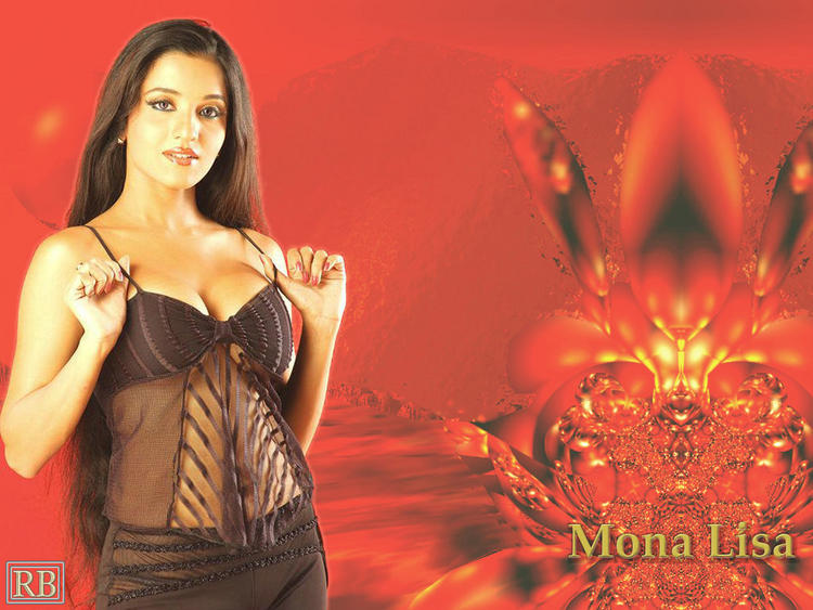 Mona Lisa Sexy Dress Hot Photo